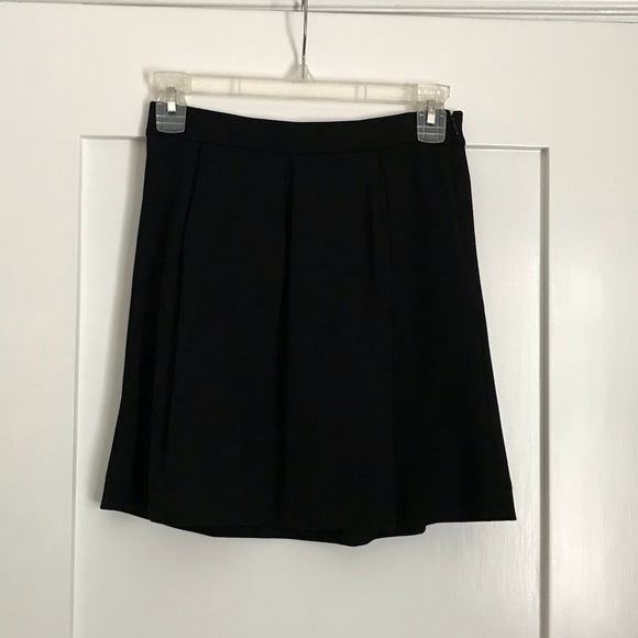 ae5cc8ff26 Madewell Skirts | Bistro Mini Skirt Black Size 0xs | Poshmark